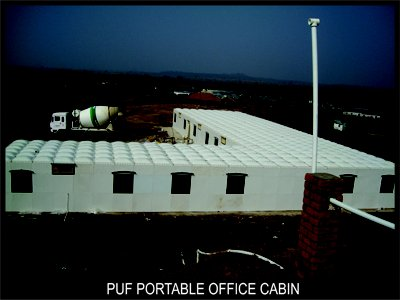 PUF Portable Office Cabin