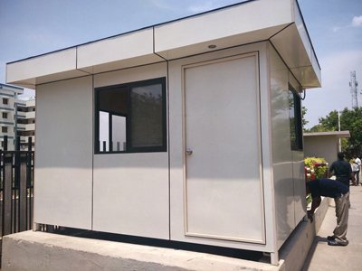 temporary building manufacturer